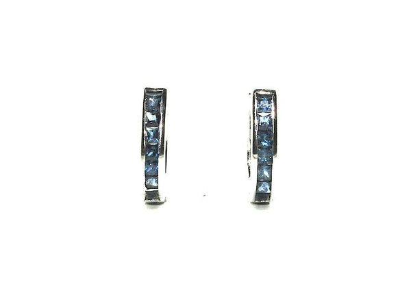 Reversable Ruby And Blue Sapphire Earring Ad No.0711