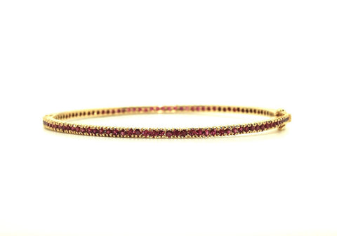 Stackable Ruby Bangle Ad No. 0017