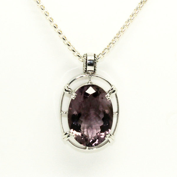 Amethyst Floating Pendant