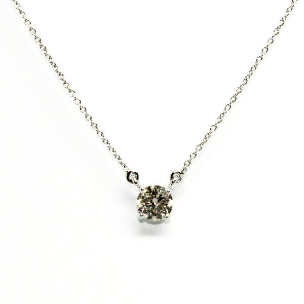 DIAMOND SOLITAIRE NECKLACE AD NO.1340
