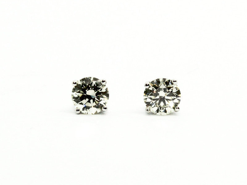 ROUND DIAMOND 4 PRONG STUDS AD NO.1339