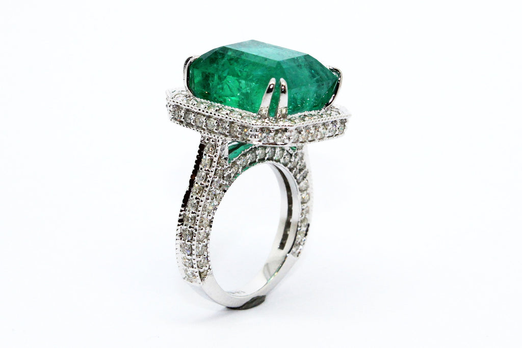 EMERALD QUEEN RING AD NO.1621
