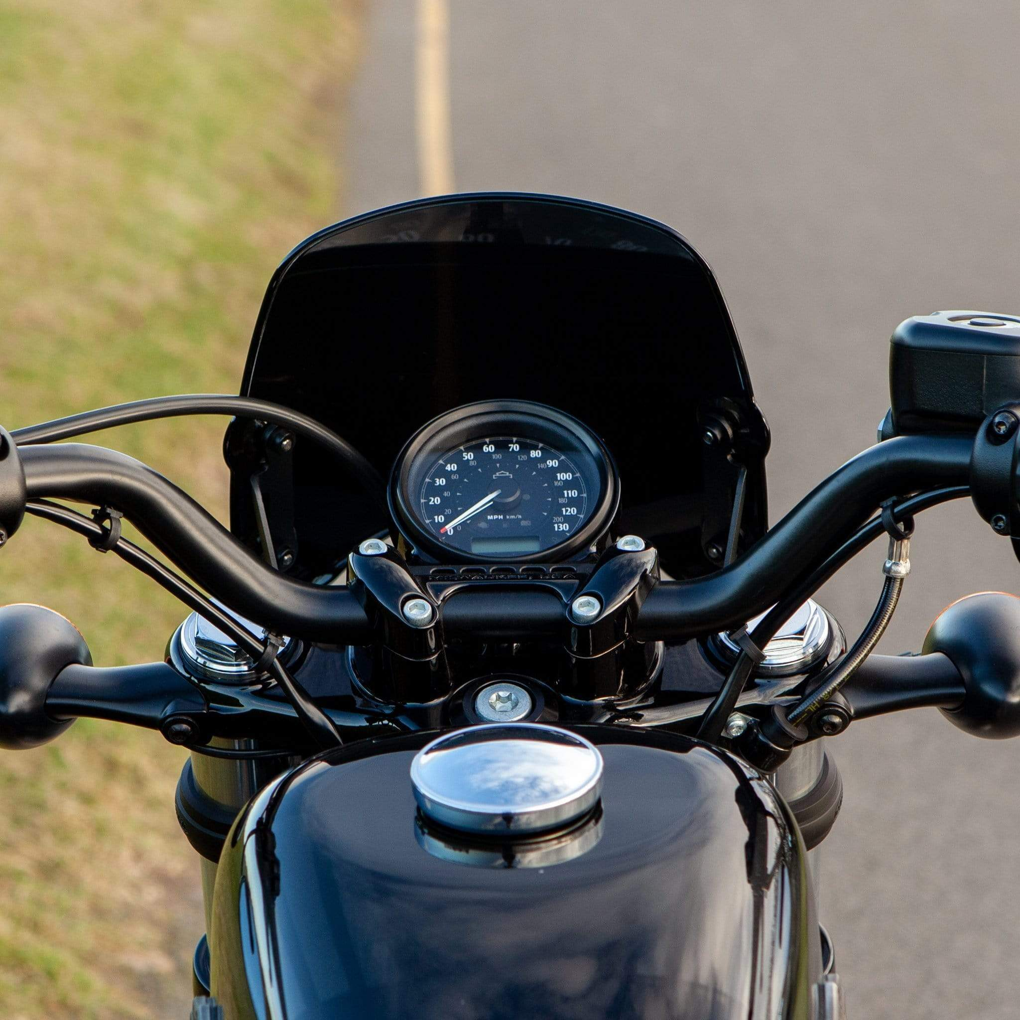 Harley-Davidson XL1200X Forty-Eight 48 - Piranha Piranha Flyscreen Dart Flyscreen Windshield