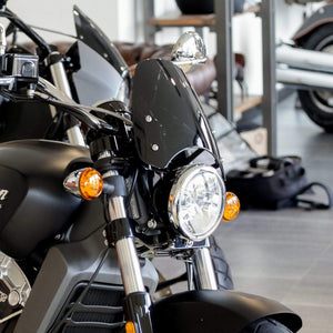 Indian Scout Dart Classic Flyscreen Windscreen in Light Tint