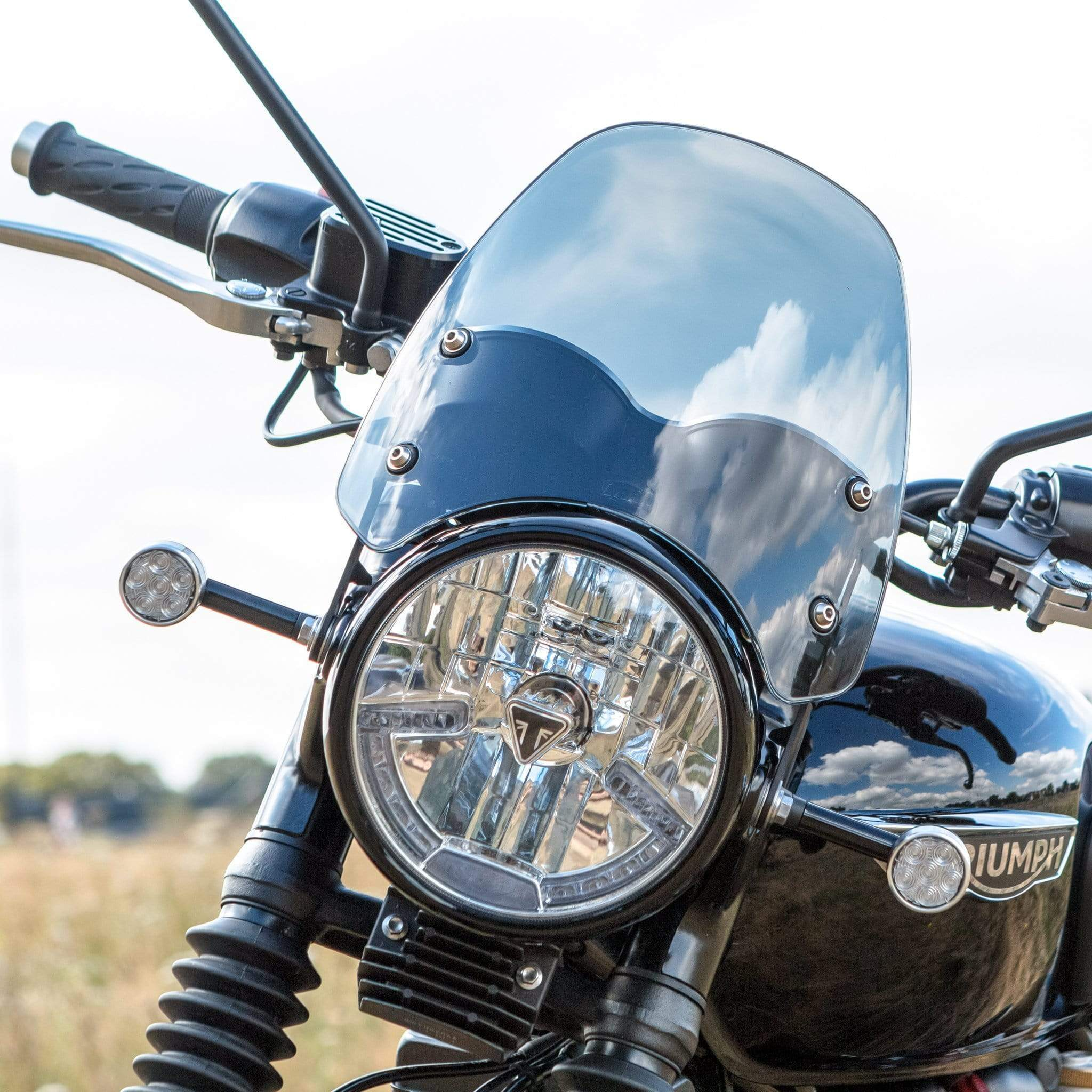 Triumph Bonneville T100 / T120 (water-cooled) - Classic Classic Flyscreen Dart Flyscreen Windshield