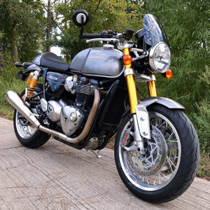 Triumph Thruxton 1200 - Classic Classic Flyscreen Dart Flyscreen Windshield