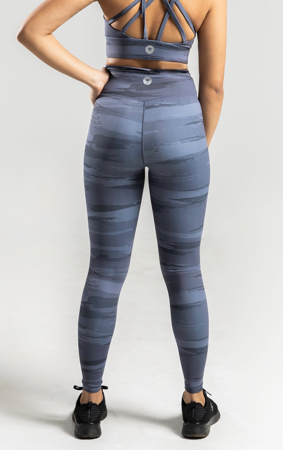 Brush Leggings - Grey - WearWolf Clothing UK