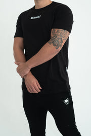 Core T-Shirt (Black) - WearWolf Clothing Ltd