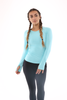 WearWolf Elegance Long Sleeve - Mint Blue