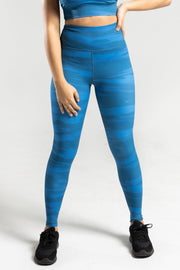 Brush Leggings - Blue