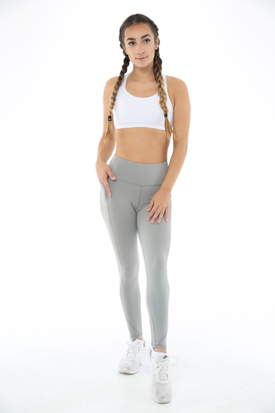 WearWolf High-Line Leggings 2.0 (Non Mesh) - Slate Grey