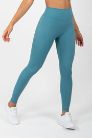 Infinity Leggings - Blue Silk