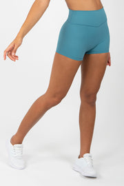 Infinity Shorts - Blue Silk - WearWolf Clothing UK