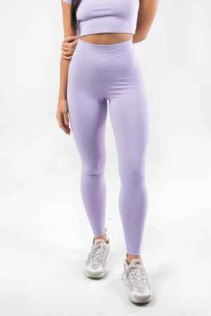 Sensation Leggings - Lavender Purple