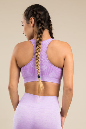 Seamless Bra - Lilac Love
