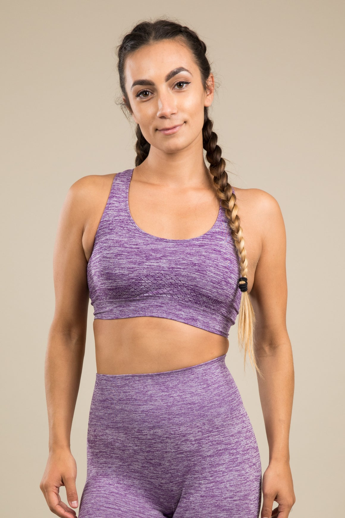 Seamless Bra - Purple Rain