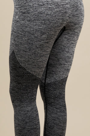 Seamless Leggings - Cloud/Pebble Grey