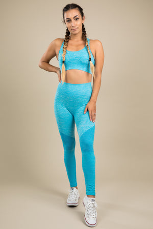 Seamless Leggings - Horizon Blue