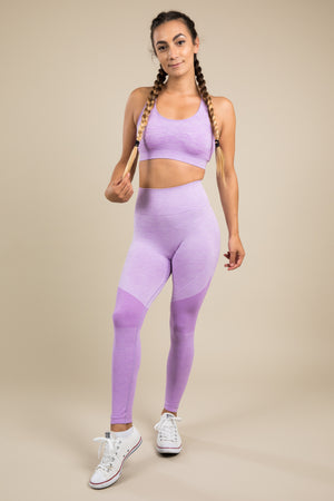Seamless Leggings - Lilac Love