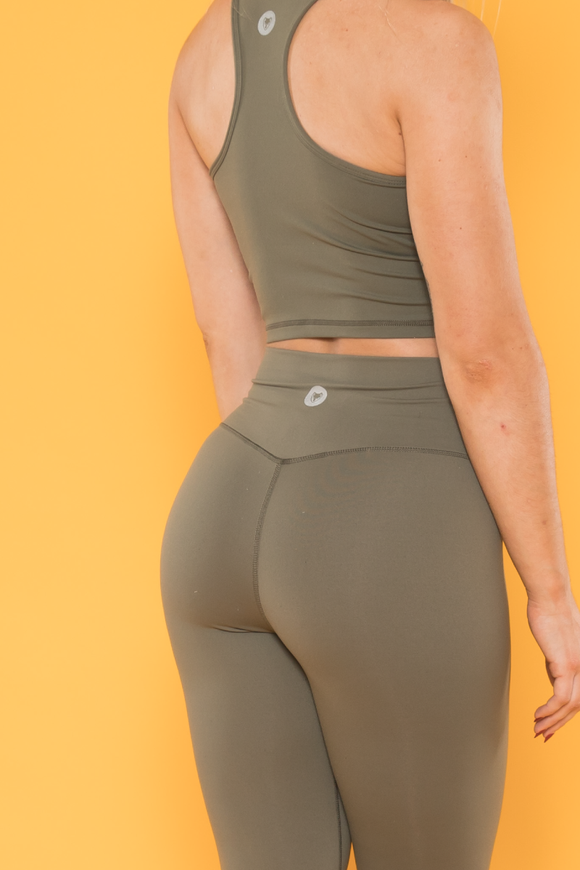 Sensation Leggings - Khaki