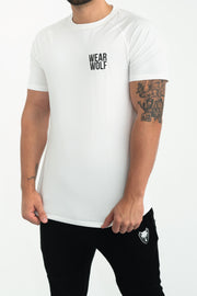 Core T-Shirt (White) - WearWolf Clothing Ltd