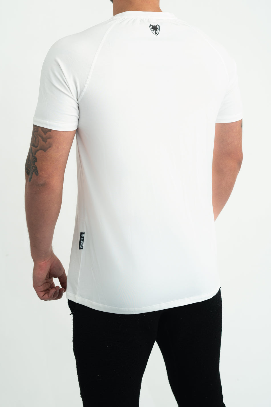 Core T-Shirt (White) - WearWolf Clothing UK