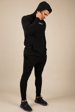 Winter Tracksuit Bottoms - Black