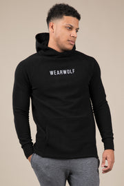 Winter Tracksuit Hoodie - Black - WearWolf Clothing UK