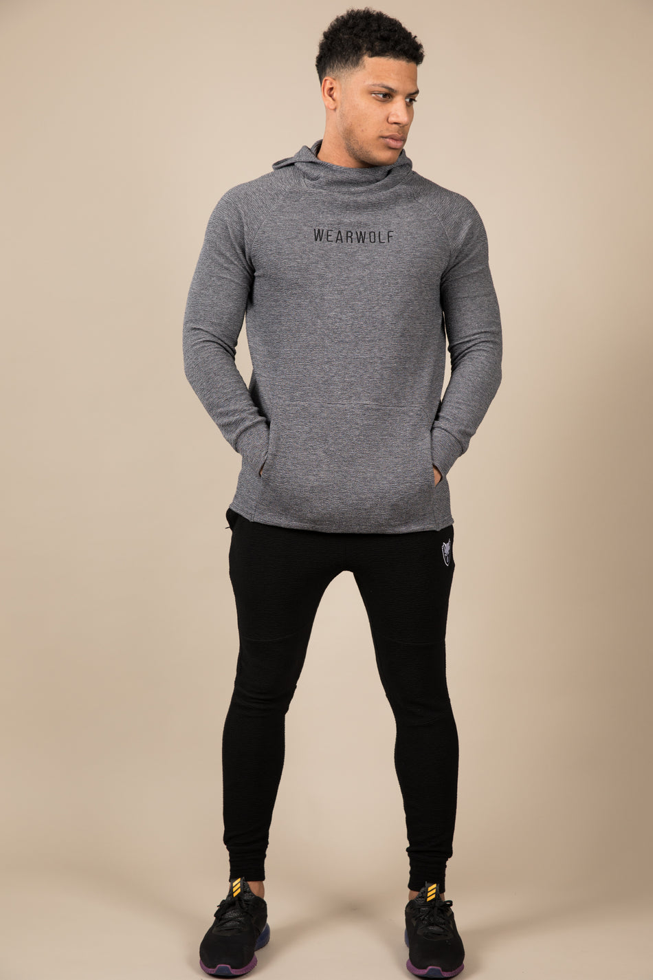 Winter Tracksuit Bottoms - Black - WearWolf Clothing UK
