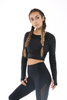 WearWolf Cropped Top - Black