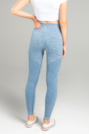 Power Seamless Leggings - Blueberry Marl