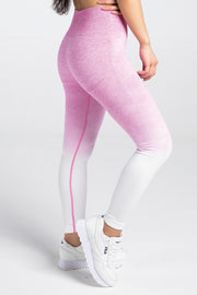 Active Ombre Seamless Leggings - Candy Pink