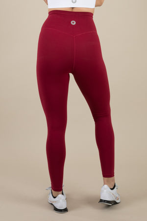 Sensation Leggings - Cherry Red
