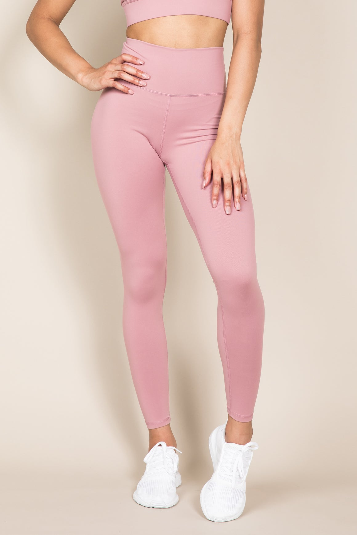 Sensation Leggings - Dusty Rose