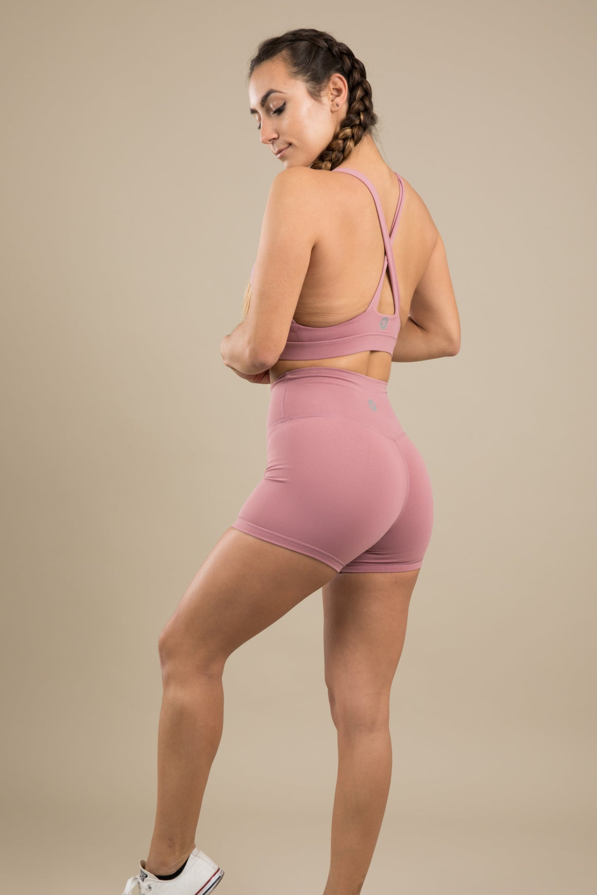 Sensation Shorts - Dusty Rose