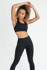 Power Seamless Bra 2.0 - Classic Black - WearWolf Clothing Ltd