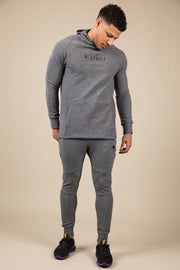 Winter Tracksuit Bottoms - Grey - WearWolf Clothing UK