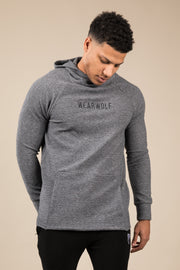 Winter Tracksuit Hoodie - Grey - WearWolf Clothing UK