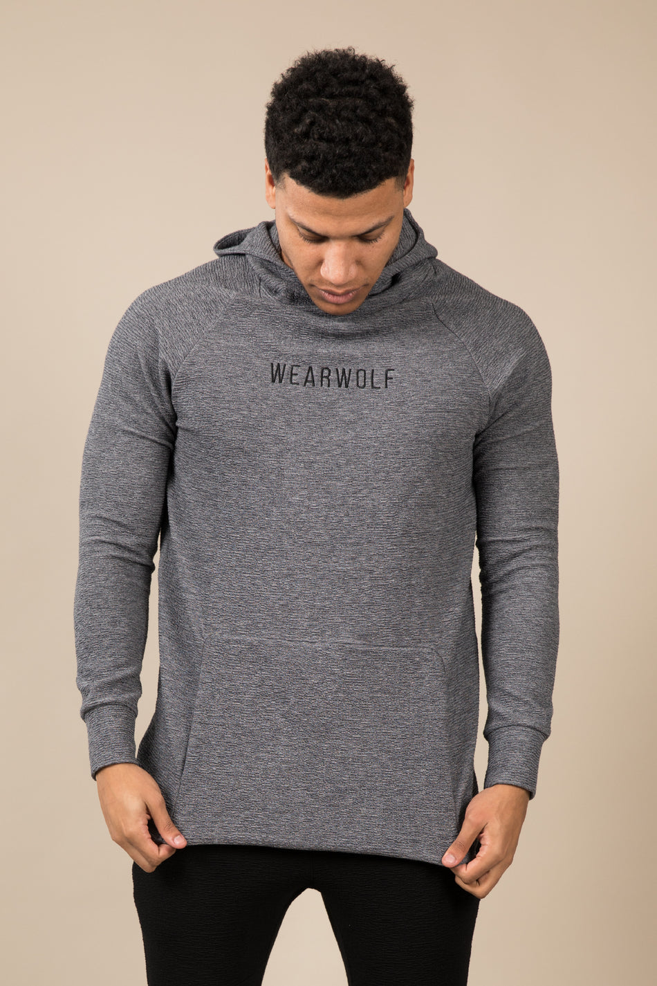 Winter Tracksuit Hoodie - Grey - WearWolf Clothing Ltd