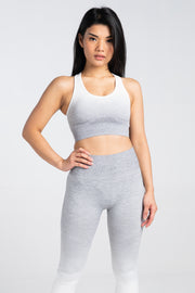 Active Ombre Seamless Bra - Grey Fade