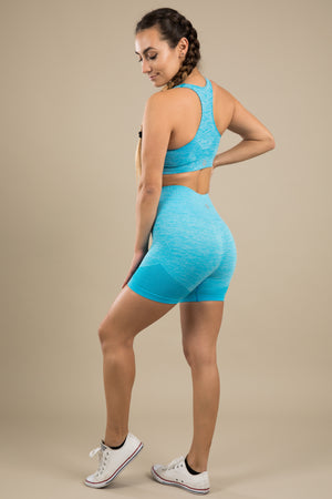 Seamless Shorts - Horizon Blue