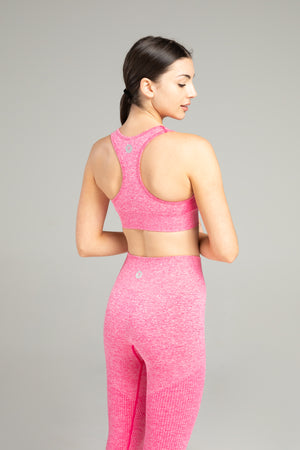 Power Seamless Bra - Hot Pink