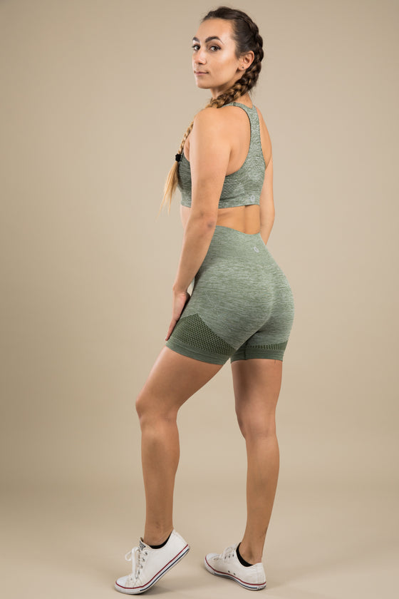 Seamless Shorts - Khaki Dream