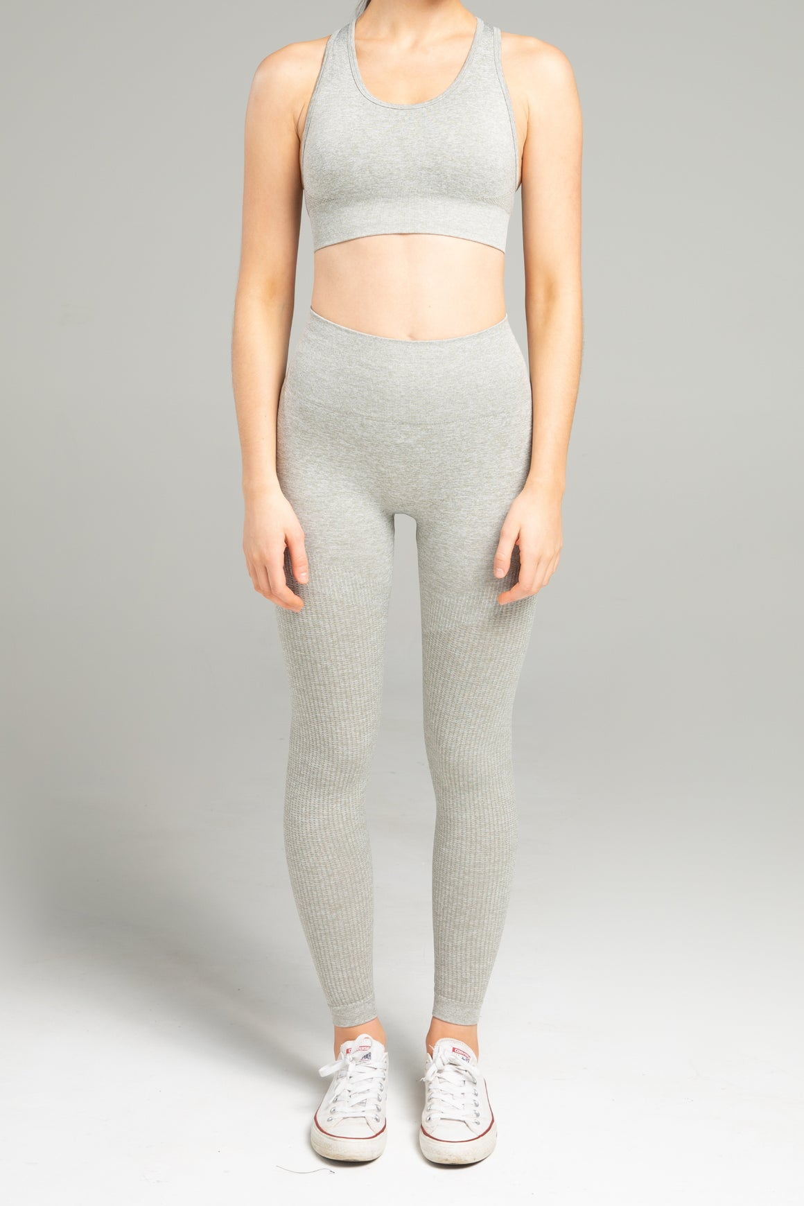 Power Seamless Leggings - Light Grey