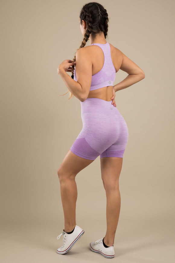 Seamless Shorts - Lilac Love
