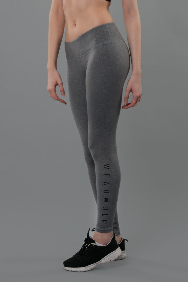 WearWolf Allure Leggings - Luna Grey