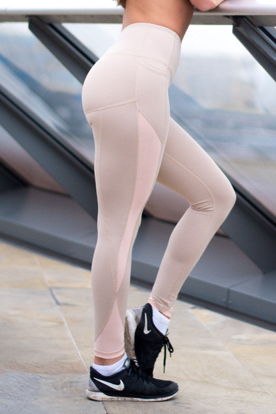 WearWolf High-Line Leggings 2.0 - Nude