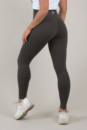 Sensation Leggings - Olive