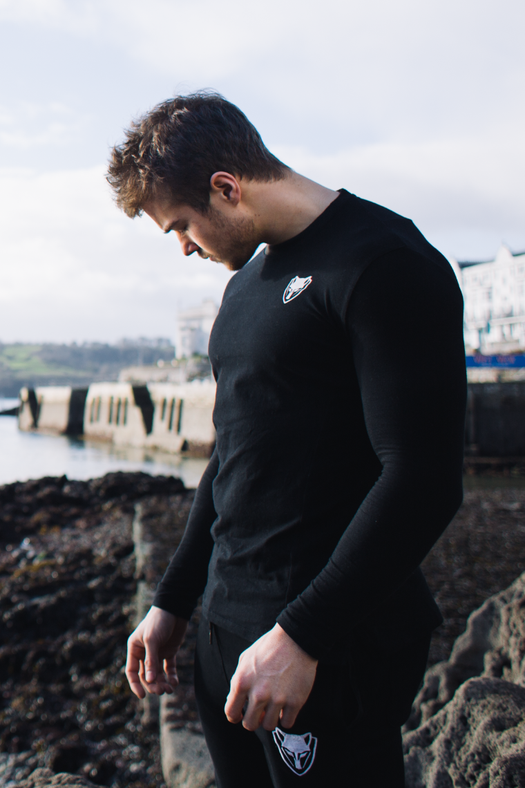 WearWolf Pioneer Long Sleeve - Onyx Black