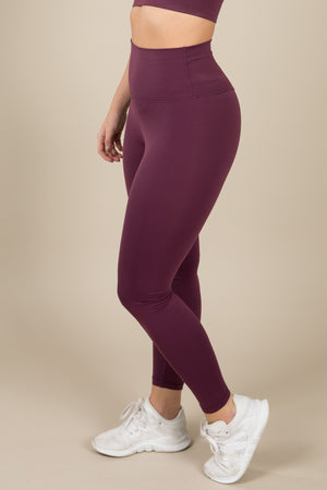 Sensation Leggings - Plum
